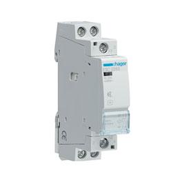 Hager contactor 25A/230V 2NO silent, 1 pc